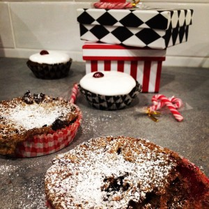 pepparkaks muffins och pajer
